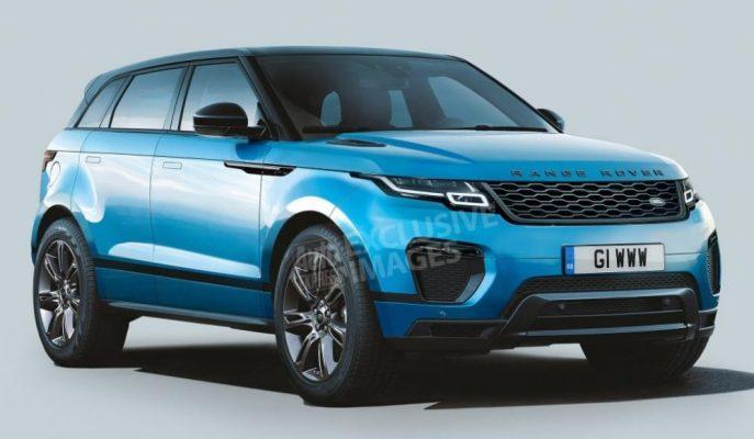 2019 Range Rover Evoque'nin Resmi Tanıtım Öncesi İlk Görselleri