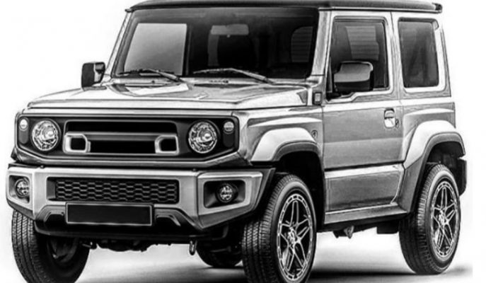 Chelsea Truck da Suzuki Jimny'e Dair Render Gösterdi!