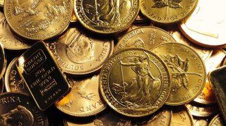 Yükselen Altın Sakin Seyreden Dolar ile Gerilemeye Başladı