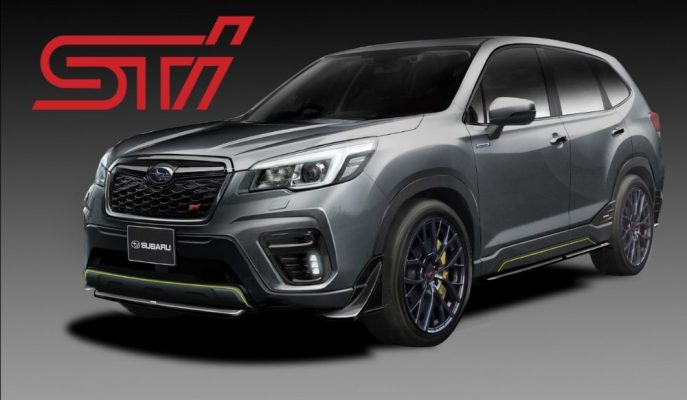 Subaru, Forester ve Impreza'nın STI Kavramlarına Start Veriyor!
