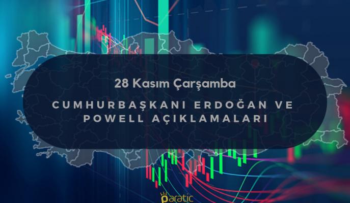 Çarşamba ve Perşembe Gününde Cumhurbaşkanı Erdoğan ile Powell Açıklamalarının Reaksiyonu