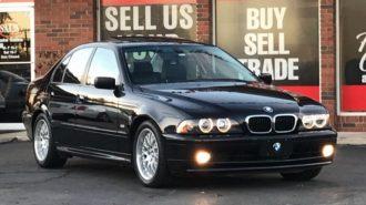 Dünyanın En Temiz 2002 Model E39 BMW 5 Serisi Satılıyor!