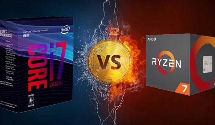 AMD Ryzen Serisi ile Satışlarda Intel'e Büyük Fark Attı