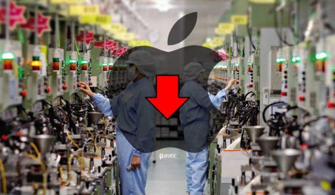 Apple Tedarikçisi Satışlarının %28 Düştüğünü Açıklayınca Hisseler Çöktü