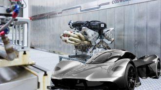 Aston Martin, Valkyrie V12 Motorunun Sarsıcı Değerlerini Sundu!