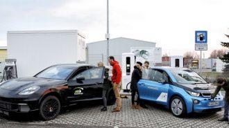 Porsche ve BMW Elektrikli Araçların Menzil Kaygısını Ortadan Kaldırıyor!