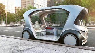 Bosch'un Yapay Zekaya Sahip Mekik Konsepti Bizlere Geleceği Gösteriyor!