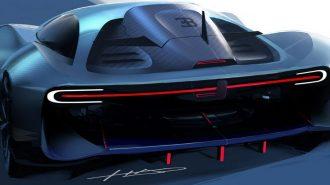 Bugatti'nin Divo'dan Sonraki Modeli Hayal Edilmiş!