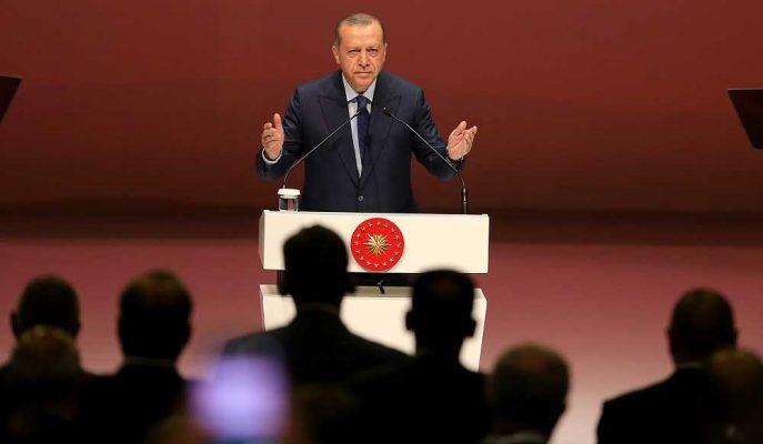 Cumhurbaşkanı Erdoğan 500 Büyük Hizmet İhracatçısı Ödül Töreninde Konuştu