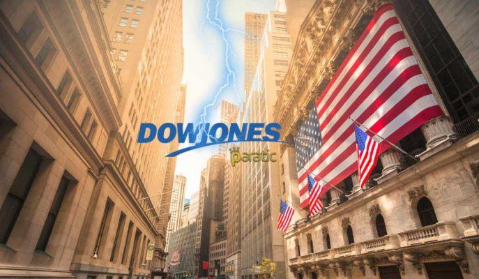 Dow Jones 400 Puanlık Düşüşle 10 Yılın En Kötü Haftalık Kapanışını Yaptı