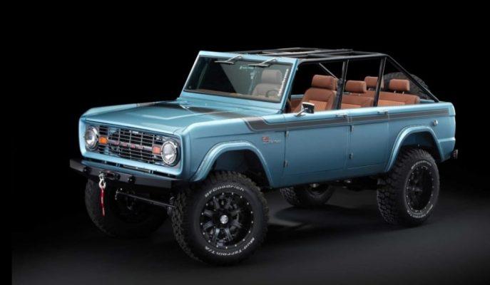 Dünyanın İlk Dört Kapılı Aşırı Pahalı Ford Bronco SUV Modifiyesi!