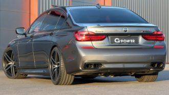G-Power BMW 760Li'nin Sınırlarını Kaldırıyor
