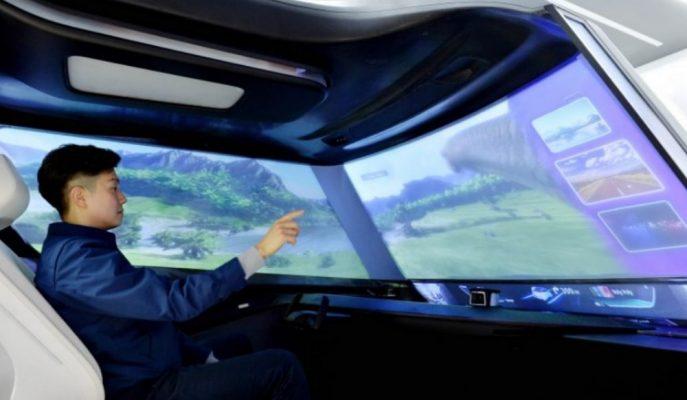 Hyundai Mobis Geleceğin Araç Kokpitini Gösterdi!