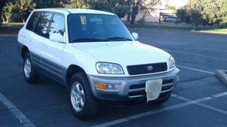 Elektrikli SUV'ların Atası İlk Toyota RAV4'lerden Birisi eBay'de Satışta!