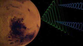 InSight Uzay Aracı Mars'ta Esen Rüzgarların Ses Kaydını Yolladı
