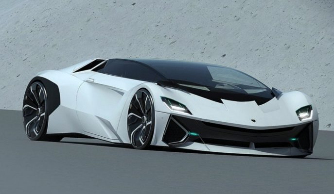 """Huracan'dan Daha Kompakt """"Lamborghini Vega"""" Tasarlandı!"""