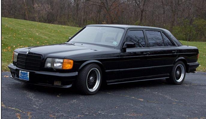 """1985 Mercedes-Brabus 1000SEL: """"500SEL'den Fazlasını İsteyenlere"""""""