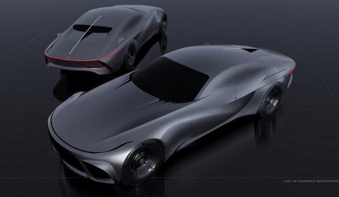 """Mercedes-Benz için """"Nostalji"""" Tasarımlı Bir Amiral Sedan!"""