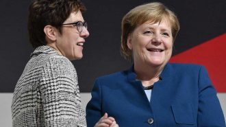 Merkel'in Çırağı Annegret Kramp-Karrenbauer CDU'nun Yeni Lideri Oldu!