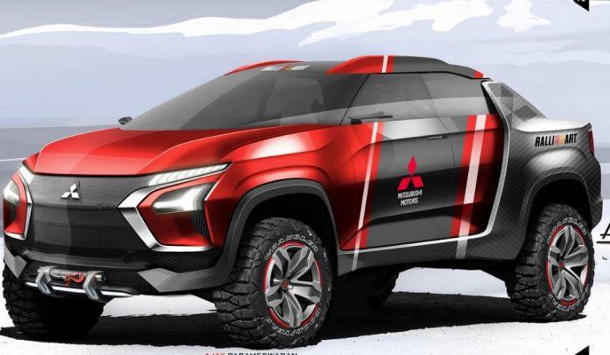 "Mitsubishi'ye Özel Süper Pick-up Tasarımı ""New Age Ute"""