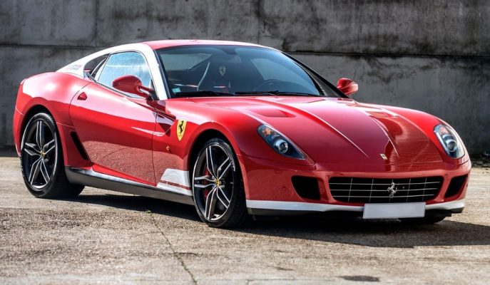 40 Adet Üretilen Ferrari 599 GTB 60F1 Alonso Edition'lardan Biri Satışta!