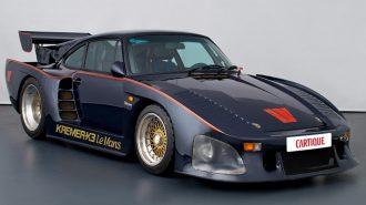 """Dünyada Sadece 1 Adet Olan """"Porsche 935 Kremer K3"""" Satışa Çıktı!"""