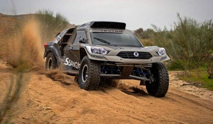 """Dünyanın Geçilmesi En Zor Yollarına Özel: """"SsangYong Rexton Dakar"""""""