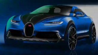 Bugatti'nin İlk SUV Modeli için Gelen Tasarım Yorumu!