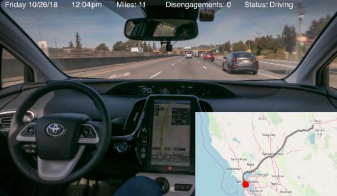 Yeni Toyota Prius'un 5 Bin Km'lik Otonom Yolculuğu!