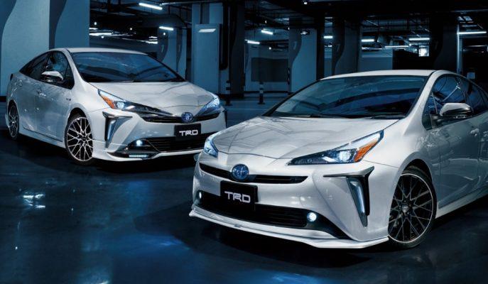 Yeni Toyota Prius, TRD'nin Hazırladığı Agresif Parçalarla Tokyo'ya Geliyor