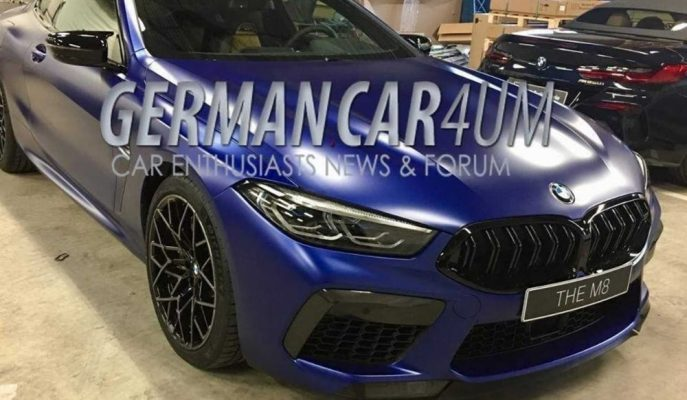 BMW 8 Serisi'nin En Güçlüsü M8'e Dair İlk Görseller Geldi!
