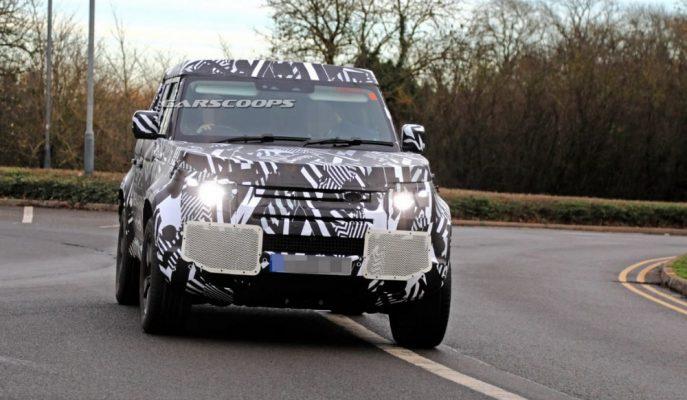 2020 Land Rover Defender Prototipi Yollarda!