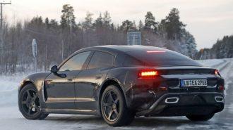 Porsche Elektrikli Modeli Taycan Hakkında Çok İddialı Konuştu!
