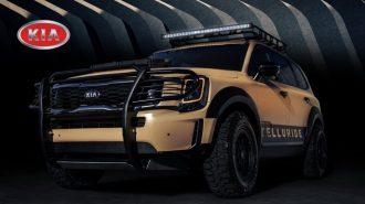 Kia, Telluride SUV'u için Off Road Paketleri Hazırlayacak!
