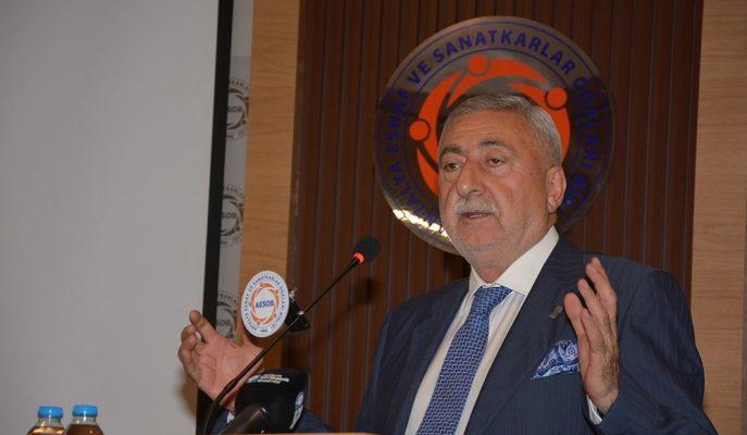 """TESK Başkanı Palandöken: """"AVM'lerin Açılış – Kapanış Saatleri Daraltılmalı"""""""