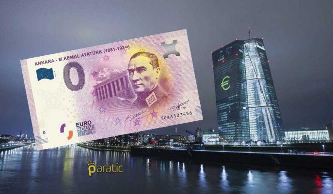 Avrupa Merkez Bankası 5 Bin Adet Atatürk Resimli Euro Bastı