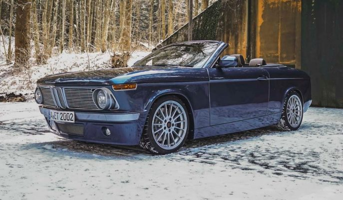 BMW Efsanelerinden 2002'nin Everytimer ile Yeniden Hayat Bulması!