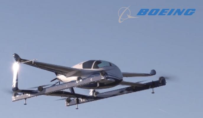 Boeing 60 Saniyelik Uçan Hava Taşıtı PAV'ın Testini Gerçekleştirdi!