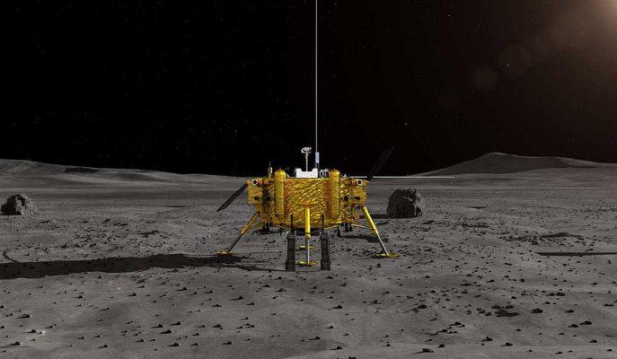 Ay'ın Karanlık Yüzüne İlk İnişini Gerçekleştiren Çin Tarihe Geçti!