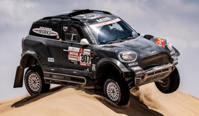 Nani Roma Dakar Rallisi'nde Mini-XRaid ile Başarısını Kutluyor!