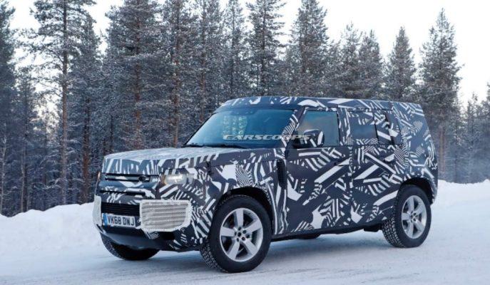 2020 Land Rover Defender 110'un Kar ve Buz Testleri Başladı!