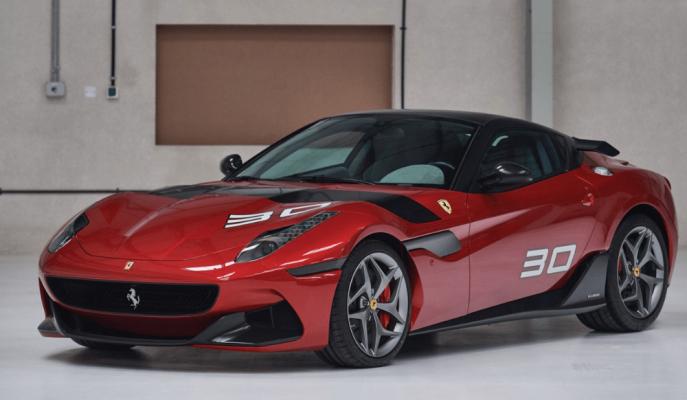 """Ferrari'nin 599 GTO Tabanlı Tek Seferlik Modeli """"SP30"""" Yeni Evini Arıyor!"""