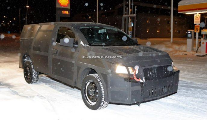 Fiat 2020 Yılı için Kompakt Mobi Pick-up'ı Hazırlıyor!