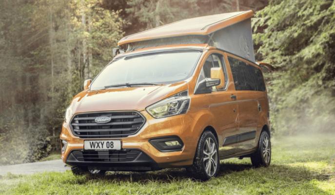 """Yeni Ford Transit Nugget Camper: """"4 Kişilik Kamp Eviniz"""""""