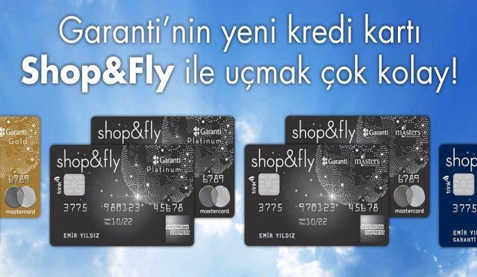 Garanti Bankası Yeni Uçuş Kartı Shop&Fly'ın Tanıtımını Yaptı