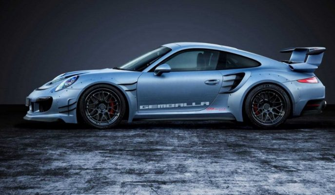 """""""Gemballa GTR 8XX EvoR BiTurbo"""" Porsche GT2 RS'ten Bile Hızlı!"""