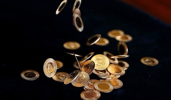Ons Fiyatlarına Paralel Gerileyen Gram Altın 222 Lira Civarında Seyrediyor