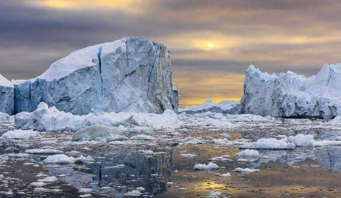 Grönland'dan Gelen Son Veriler Buzulların Beklenenden Fazla Eridiğini Gösteriyor