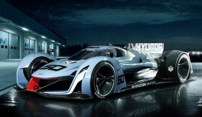 Hyundai Motors Detroit Fuarı'na Bir Hiper Araçla mı Gelecek?