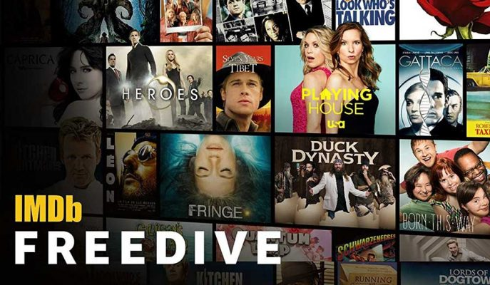 Dijital Yayın Pazarına IMDb de Katıldı: Ücretsiz Platform Freedive!